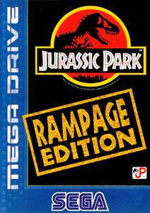 Portada de la descarga de Jurassic Park: Rampage Edition