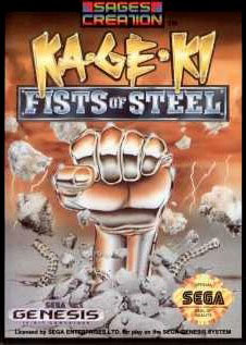 Carátula del juego Ka-Ge-Ki Fists of Steel (Genesis)