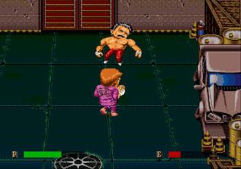 Pantallazo del juego online Ka-Ge-Ki Fists of Steel (Genesis)