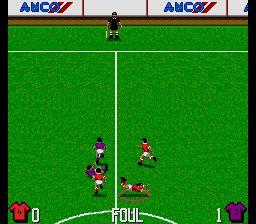 Pantallazo del juego online Kick-Off 3 European Challenge (Genesis)