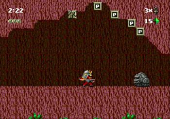 Pantallazo del juego online Kid Chameleon (Genesis)