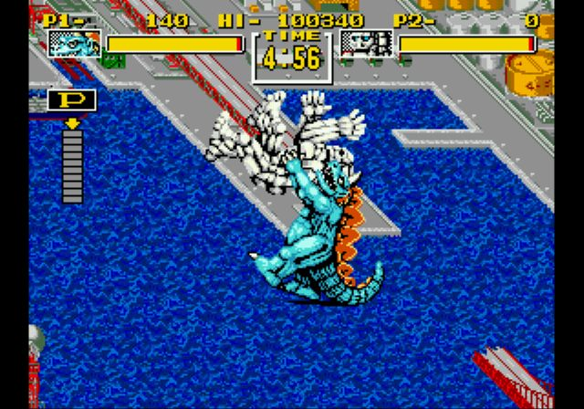 Pantallazo del juego online King of the Monsters (Genesis)