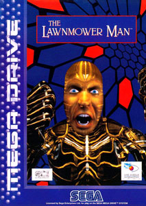 Carátula del juego The Lawnmower Man (Genesis)