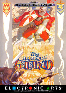 Carátula del juego Galahad (Genesis)