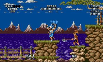 Pantallazo del juego online Galahad (Genesis)
