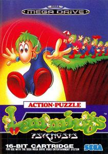 Carátula del juego Lemmings (Genesis)