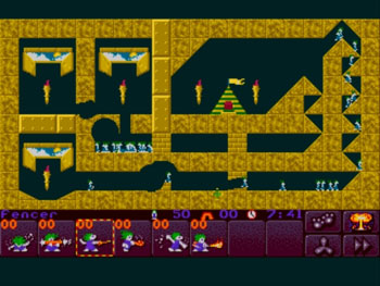 Pantallazo del juego online Lemmings 2 The Tribes (Genesis)