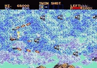 Pantallazo del juego online Lightening Force - Quest for the Darkstar (Genesis)