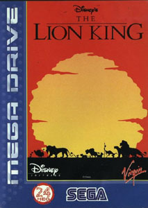 Carátula del juego The Lion King (Genesis)