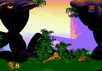 Pantallazo del juego online The Lion King (Genesis)