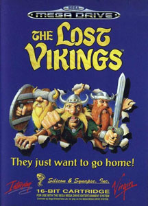 Carátula del juego The Lost Vikings (Genesis)