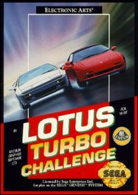 Carátula del juego Lotus Turbo Challenge (Genesis)
