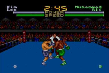 Pantallazo del juego online Muhammad Ali Heavyweight Boxing (Genesis)