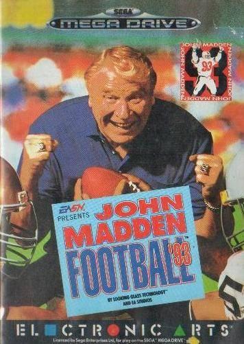 Portada de la descarga de John Madden Football '93