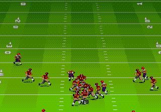 Pantallazo del juego online John Madden Football '93 (Genesis)