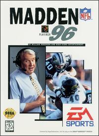 Carátula del juego Madden NFL 96 (Genesis)