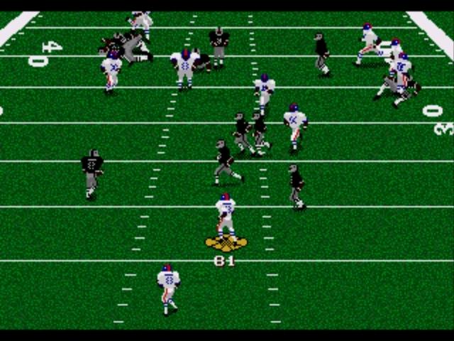 Pantallazo del juego online Madden NFL 96 (Genesis)