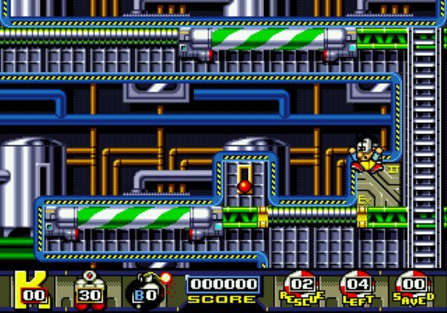 Pantallazo del juego online Man Overboard (Genesis)