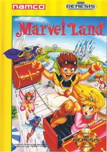 Portada de la descarga de Marvel Land