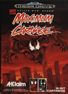 Portada de la descarga de Maximum Carnage