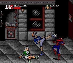 Pantallazo del juego online Maximum Carnage (Genesis)