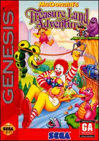 Portada de la descarga de McDonald's Treasure Land Adventure