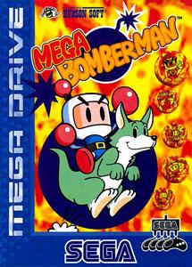 Carátula del juego Mega Bomberman (Genesis)