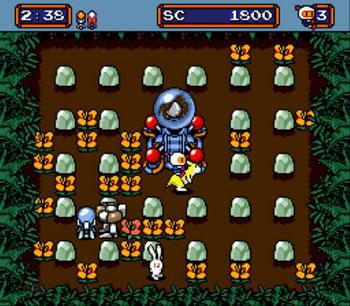 Pantallazo del juego online Mega Bomberman (Genesis)