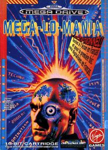 Carátula del juego MegaLoMania (Genesis)