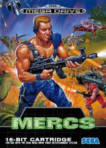 Carátula del juego MERCS (Genesis)