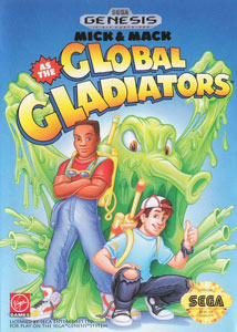 Carátula del juego Mick & Mack as the Global Gladiators (Genesis)