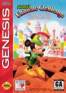 Carátula del juego Mickey's Ultimate Challenge (Genesis)