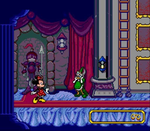 Pantallazo del juego online Mickey's Ultimate Challenge (Genesis)