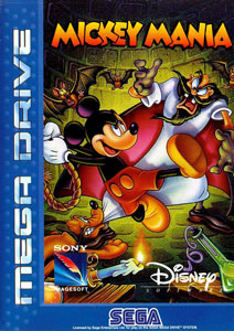 Carátula del juego Mickey Mania The Timeless Adventures of Mickey Mouse (Genesis)