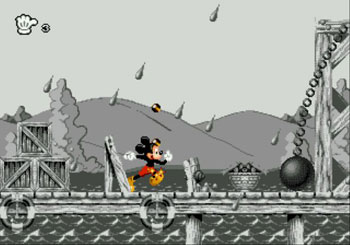 Pantallazo del juego online Mickey Mania The Timeless Adventures of Mickey Mouse (Genesis)