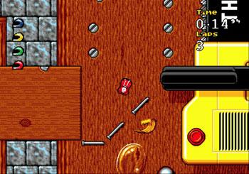 Imagen de la descarga de Micro Machines 2: Turbo Tournament Edition