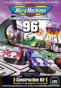 Carátula del juego Micro Machines Turbo Tournament 96 (Genesis)