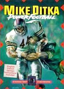 Carátula del juego Mike Ditka Power Football (Genesis)