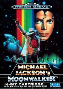 Carátula del juego Michael Jackson's Moonwalker (Genesis)