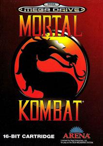 Carátula del juego Mortal Kombat (Genesis)