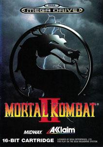 Carátula del juego Mortal Kombat II (Genesis)