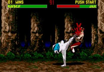 Pantallazo del juego online Mortal Kombat II (Genesis)