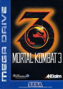Carátula del juego Mortal Kombat 3 (Genesis)