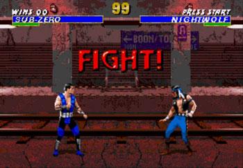 Pantallazo del juego online Mortal Kombat 3 (Genesis)