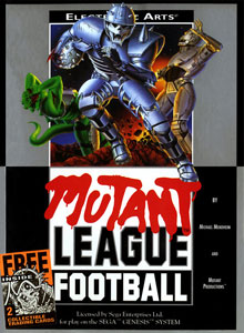 Carátula del juego Mutant League Football (Genesis)
