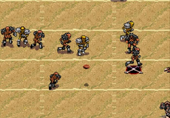 Pantallazo del juego online Mutant League Football (Genesis)