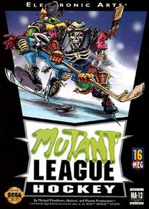 Carátula del juego Mutant League Hockey (Genesis)