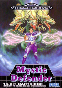 Carátula del juego Mystic Defender (Genesis)