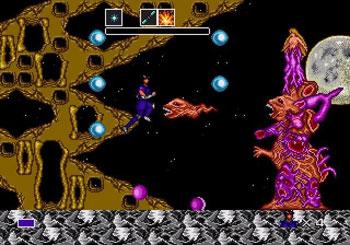 Pantallazo del juego online Mystic Defender (Genesis)