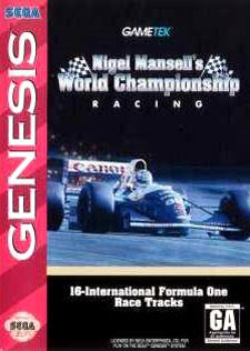 Portada de la descarga de Nigel Mansell's World Championship Racing
